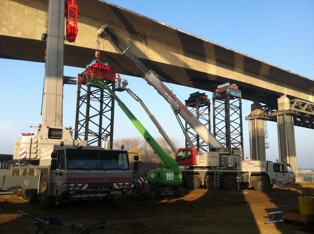 Arbeiten Störbrücke