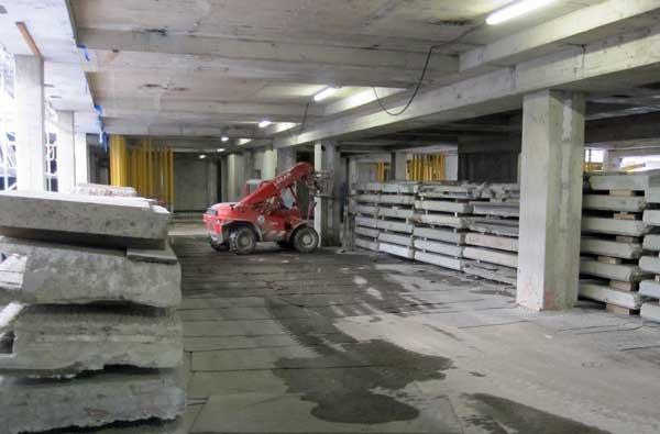Rückbau Frankfurt Uniklinikum 2010