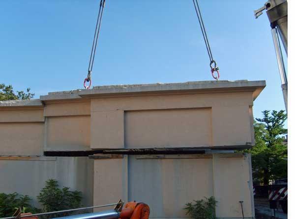 Rückbau eines Bunkers in Köpenick / Berlin