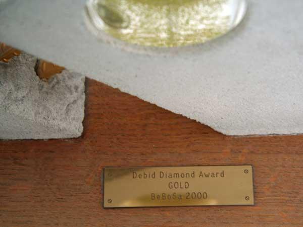 Auszeichnung Diamond Award 2000