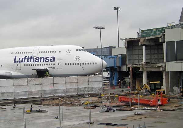 Gate 46 Flughafen Frankfurt/Main