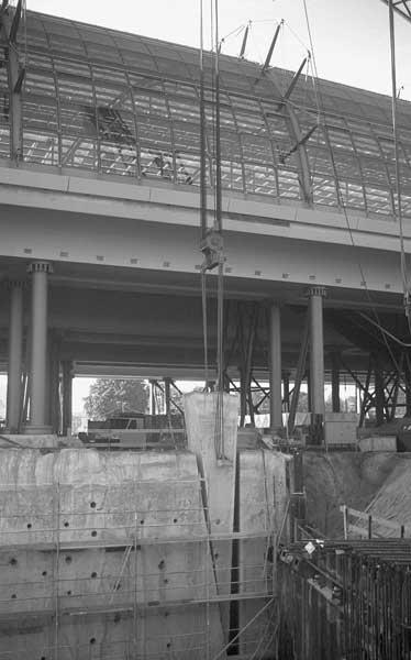 Umbaumaßnahme Lehrter Bahnhof / Berliner Hauptbahnhof