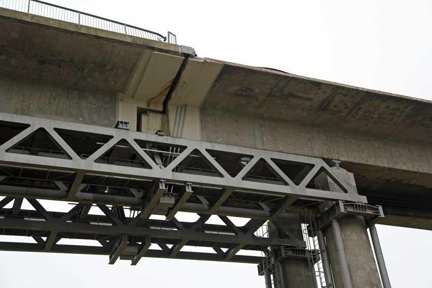 Detail Stahlträger