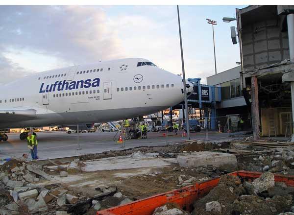 Gate 46 & 48 Flughafen Frankfurt/Main